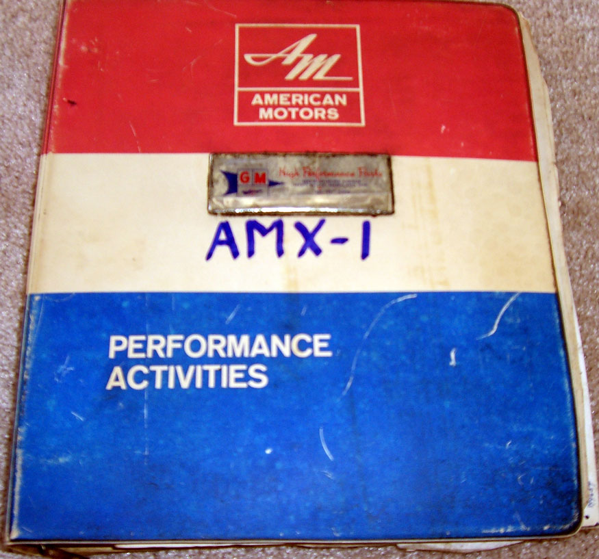 AMX-1 Performance Activities