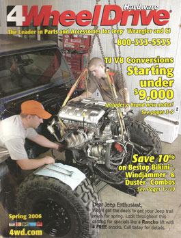 4 Wheel Drive Magazine Cover